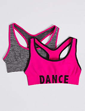 Seamfree Dance Crop Tops (6-16 Years)