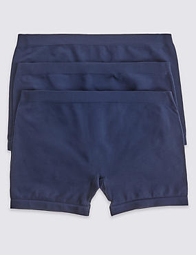 3 Pack Seamfree Modesty Shorts (6-16 Years)