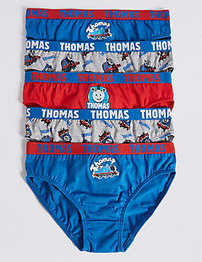 Pure Cotton Thomas & Friends™ Briefs (1-8 Years)