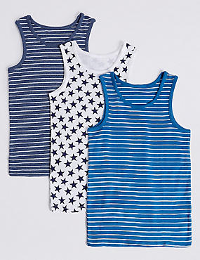 Pure Cotton Vests (2-8 Years)