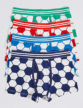Cotton Trunks with Stretch (2-16 Years)