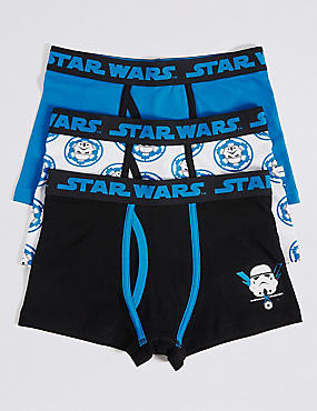 Star Wars™ Cotton Trunks with Stretch (2-16 Years)
