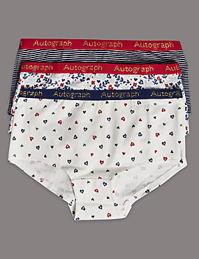 3 Pack Cotton Rich Assorted Shorts (6-16 Years)