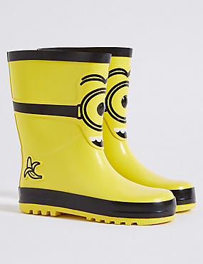 Kids' Despicable Me™ Minions Wellington Boots