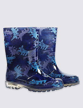 Lights-up Wellington Boots