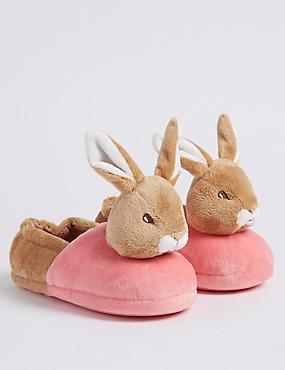 Kids' Peter Rabbit™ Slippers (5 Small - 12 Small), MULTI, catlanding
