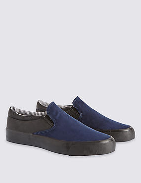 Kids' Low Top Slip-on Trainers