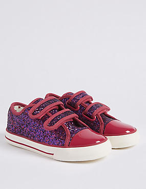 Kids' Fashion Trainers (5 Small - 12 Small), BERRY, catlanding