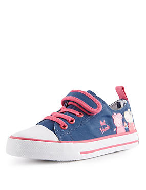 Kids' Peppa Pig™ Appliqué Riptape Trainers