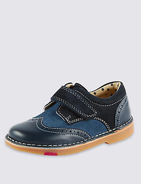 Kids' Walkmates Leather Brogue Shoes