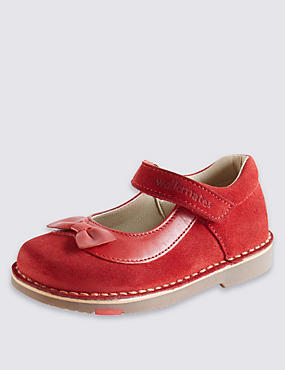Kids' Walkmates Suede Cross Bar Shoes