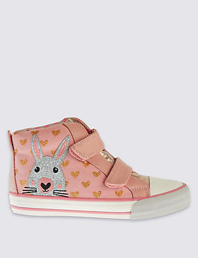Kids' Bunny Riptape Trainers