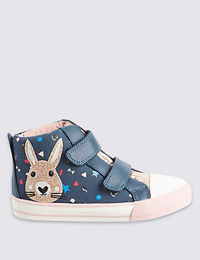 Kids' High Top Bunny Trainers
