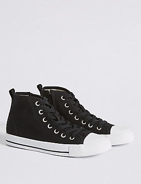 Kids' High Top Casual Trainers