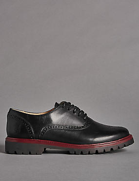 Kids' Lace-up Brogue Shoes