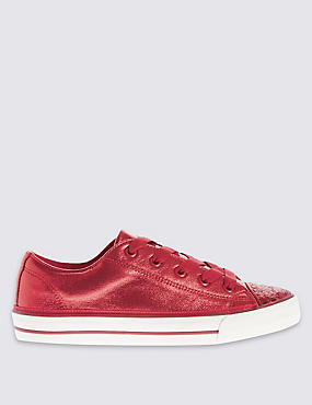 Kids' Low Top Sparkle Trainers