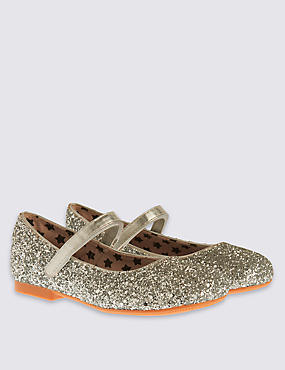 Kids' Cross Bar Shoes (5 Small - 12 Small), SILVER, catlanding