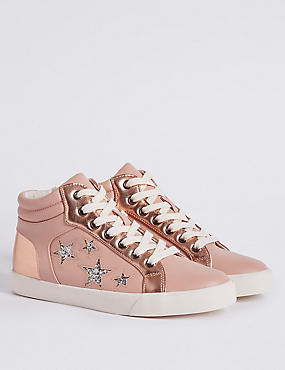 Kids' Lace-up Fashion Trainers
