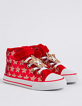 Kids' Star Sequin Fashion Trainers