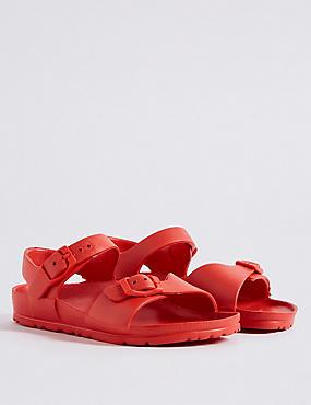 Kids' Lightweight Sandals (5 Small - 12 Small), RED, catlanding