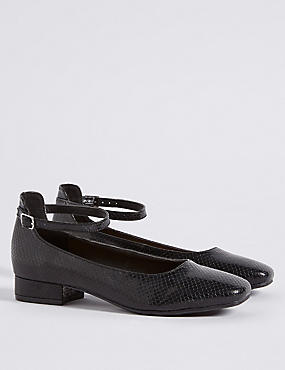 Kids' Buckle Pump Shoes