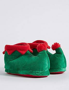 Kids' Elf Slippers