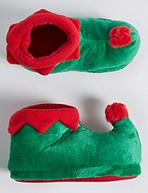 Kids' Elf Slipper