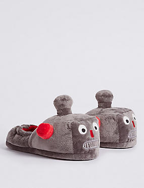 Kids' Robot Slippers