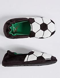 Kids' Football Slippers