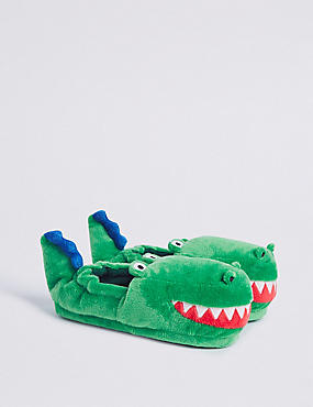 Kids' Crocodile Slippers