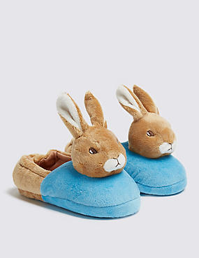 Kids' Peter Rabbit™ Slippers (5 Small - 12 Small), MULTI, catlanding