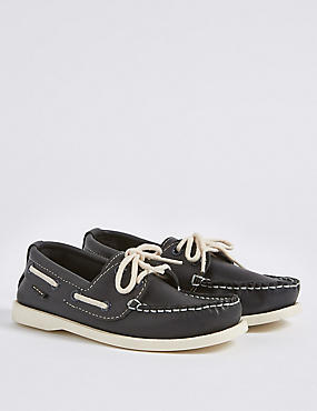 Kids' Leather Slip-on Shoes