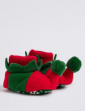 Baby Slip-on Elf Pram Shoes