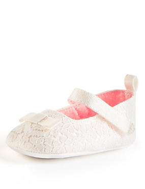 Baby Christening Cross Bar Shoes