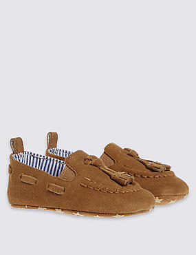 Kids' Suede Slip-on Shoes