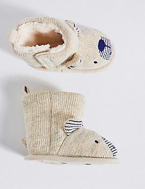 Baby Knitted Novelty Booties