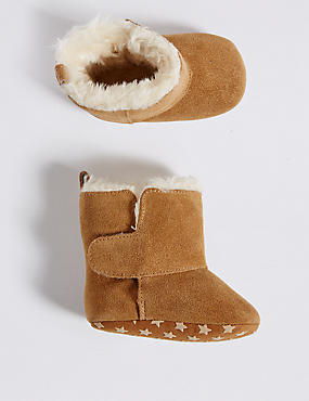 Kids' Suede Boots