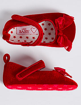Baby Riptape Pram Shoes