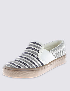 Kids' Mesh Slip-On Trainers