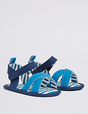 Baby Riptape Sandals, BLUE MIX, catlanding