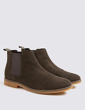 Kids' Chelsea Boots (13 Small - 7 Large), GREY, catlanding