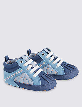 Kids' Lace-up Pram Shoes