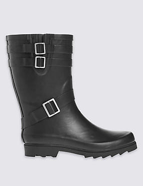 Kids' Wellington Biker Boots