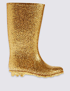 Kids' Wellington Glitter Boots