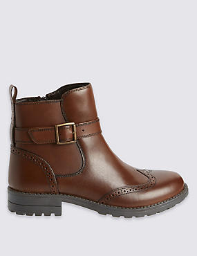 Kids' Brouge Boots
