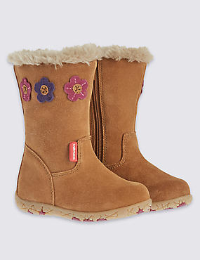 Kids Suede Walkmates Boots