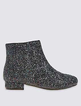 Kids' Glitter Party Boots
