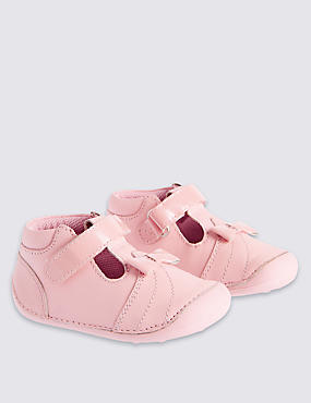 Kids' Leather Pre Walker Shoes