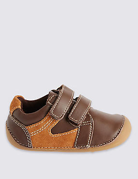 Kids Leather Pre Walker Shoes