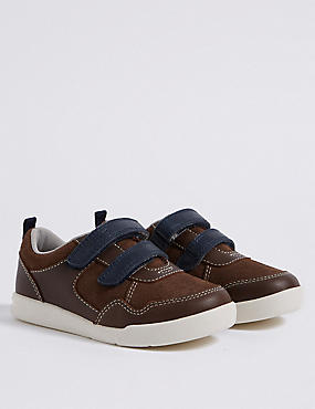 Kids' Leather Walkmates™ Fashion Trainers